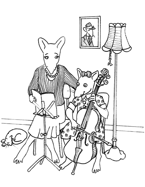 cello mouse